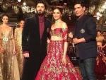 Performance of Fawad and Deepika in New Delhi Fashion Week