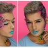 Lisa Frank Leopard-Inspired Makeup