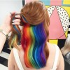 Office-Friendly Rainbow Hair to Change Your Life