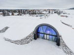 World First Permanent Ice Hotel See in Pictures