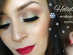 Christmas Party & Holiday Make Up Tutorial