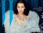 Bella Hadid Back to Cover of W Korea for January 2017