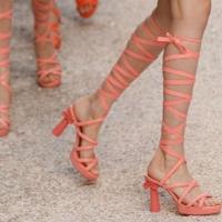 Stefano Gabbana Column Heel Design