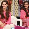 Sanam Saeed Killing Looks in Pink Dress