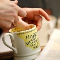 Prince Harry & Meghan Wedding Cup in Market