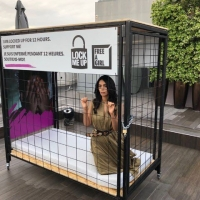 Maleeka Sharawat Strange Protest in Cannes Festival