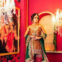 Gul Mehndi Latest Collection 2018-19 by Saira Rizwan