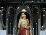Bridal Wear Muhabbat Collection at BCW 2018 by Uzma Babar