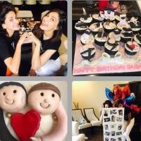 Saba Qamar Birthday Celebration Pictures with Friends