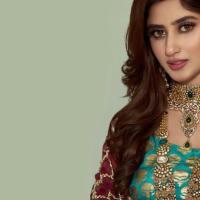 Sajal Ali Stunning Look in Haroon Sharif Jewellers Photoshoot