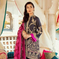 'Rani Bagh' Luxury Lawn Collection 2019 by Cross Stitch