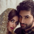 Engagement of Ahad Raza Mir and Sajal Ali