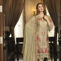 Embroidered Chiffon Collection 2019 by Ramsha