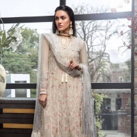 Embroidered Chiffon Collection 2019 by 'Manara' by Maria Asif Baig