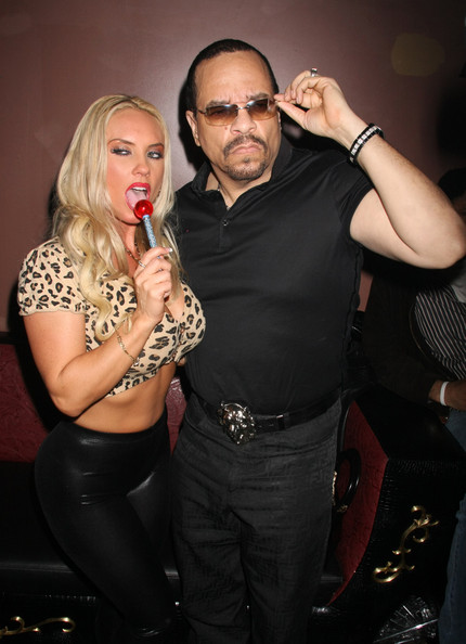 Coco and Ice-T Arriving M2 Club