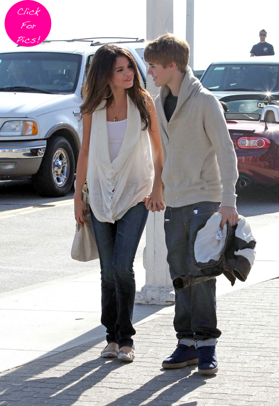 justin selena pictures