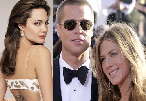Brad Pitt y Angelina se
