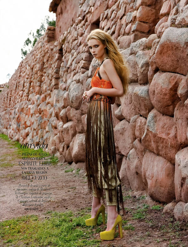Tiiu Kuik Vogue hot style