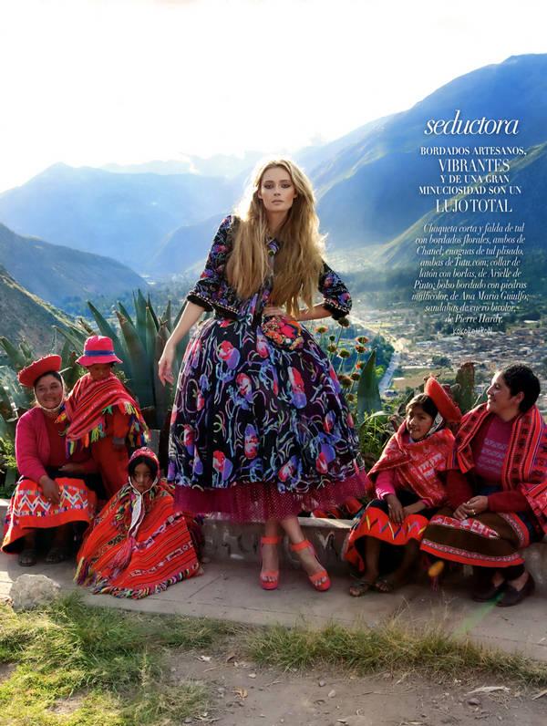 Tiiu Kuik Vogue wallpaper