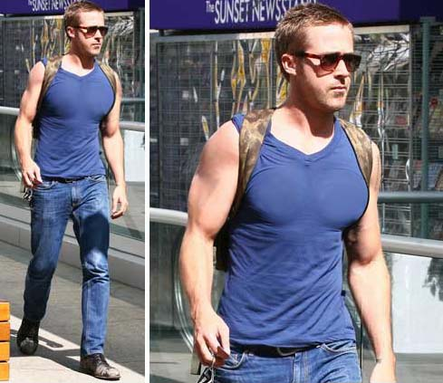 Sidewalk Style: Ryan Gosling In Salvatore Ferragamo ...