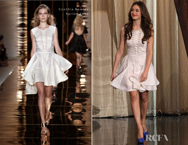 Emmy Rossum In Cynthia Rowley
