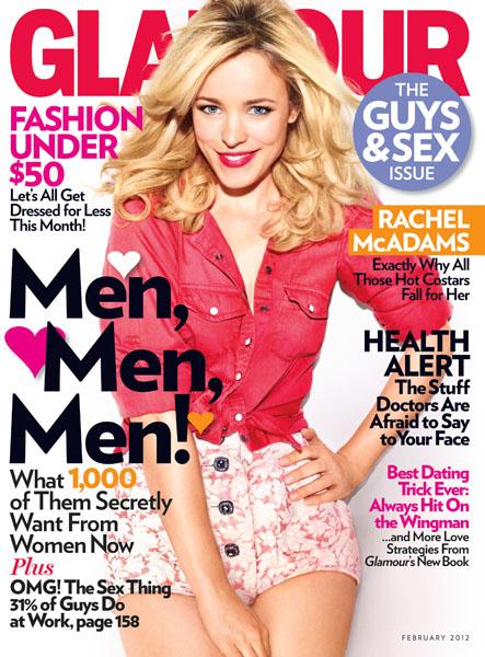 Rachel McAdams Glamour Cover