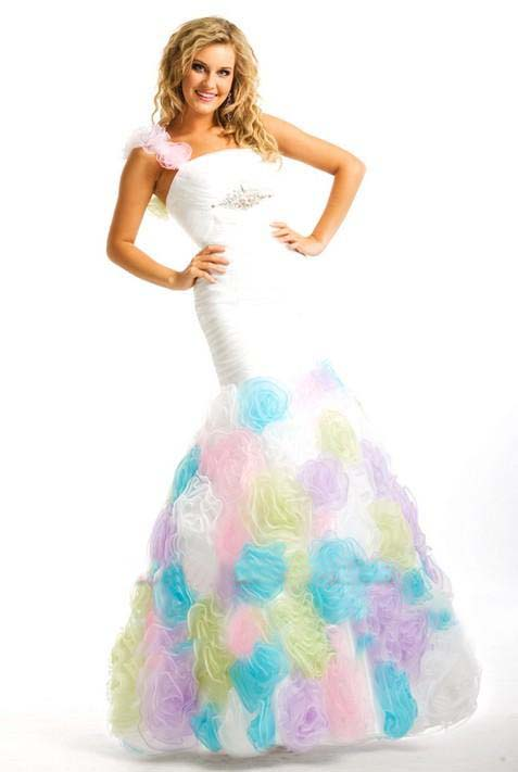 Pink Special occasion dresses 2012