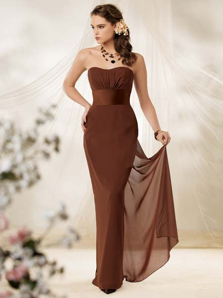 Dark Brown special occasion dresses