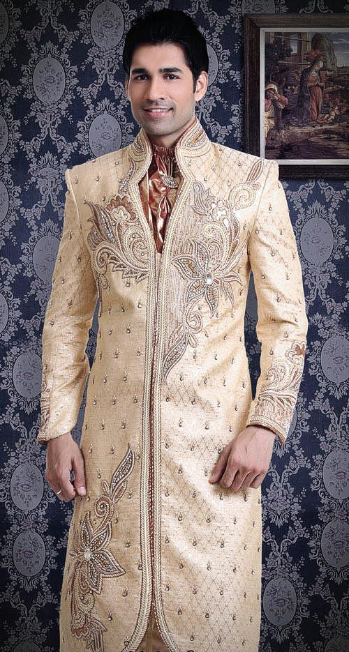 Golden special occasion dresses for Men Styles