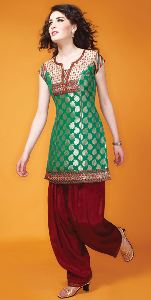 Colorful Kurti for Parties