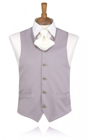 Dove Grey, Traditional Morning Suit Waistcoat