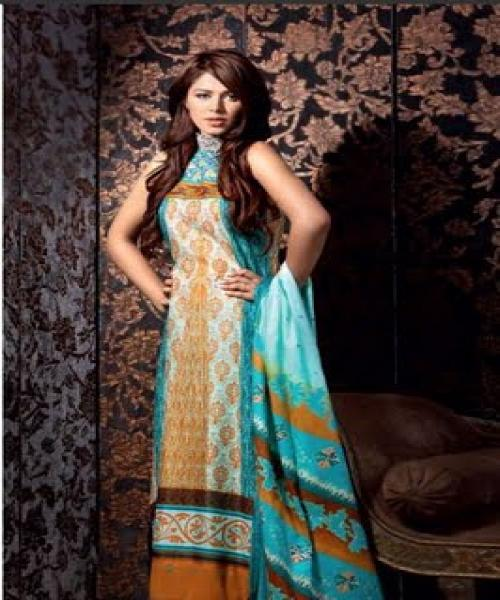 Eid Clothing for Women kurti 2011