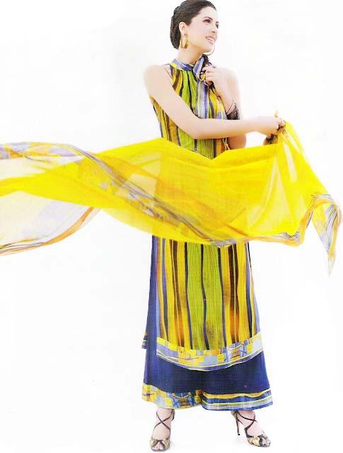Fashion Designer Sonya Battla Summer Lawn Dresses