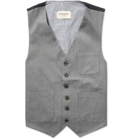 Pascoe Cotton Twill Waistcoat