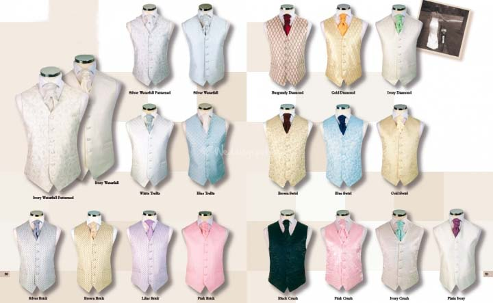 Waistcoat Design Collection