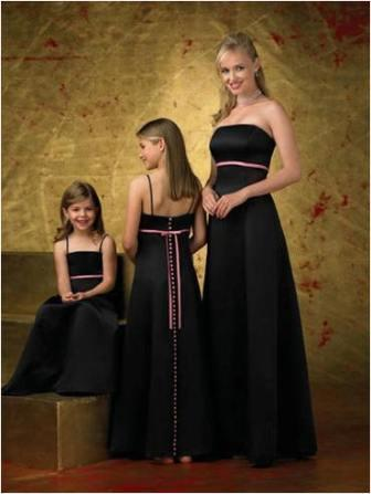 Black special occasion dresses