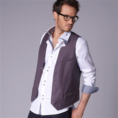Waistcoat with Fancy Collar