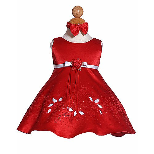 dresses for special occasions and headband for baby girls