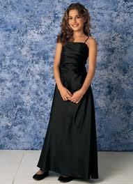 Black Special Occasion Dress Girls Skirt