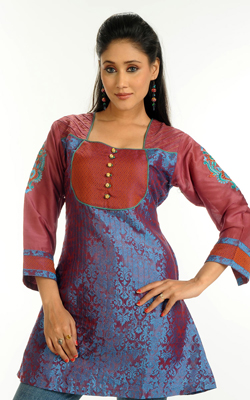 Beautiful kurti Design 2012