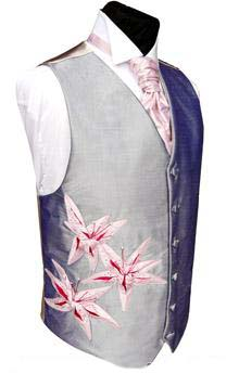 lilies waistcoat