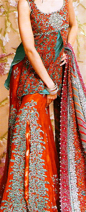 pakistani sharara designs