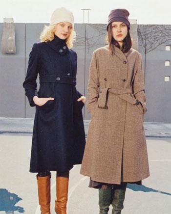 Long Coat models