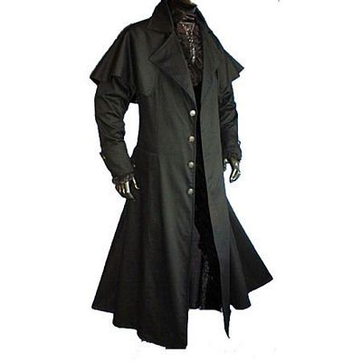 long leather coat design