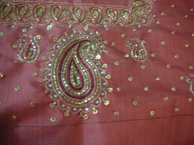Saree Embroidery Designs  Fashion Style Trends 2017