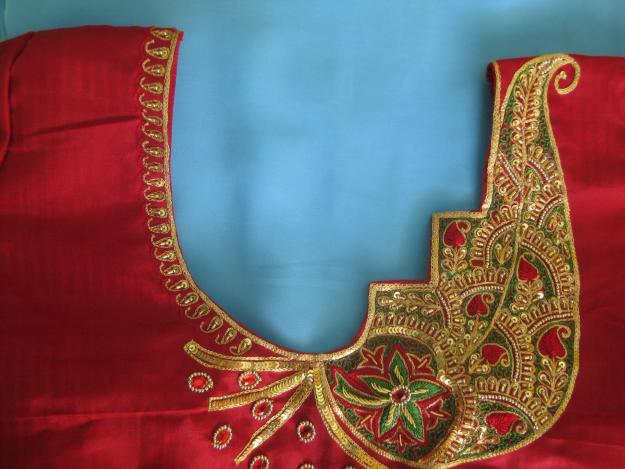 Hand Embroidery blowses sale coimbatore Ganapathy