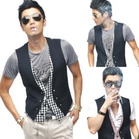 2009 new design mens waistcoat