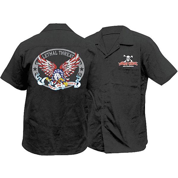 Lethal Threat Designs USA Eagle Workshirt
