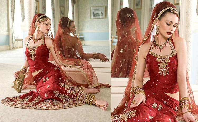 2012 bridal lehenga choli designs