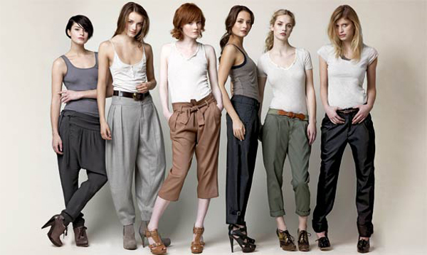 фото моделей брюк